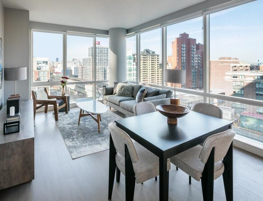 Apartments for rent at Tower28 in NYC - Living Area
