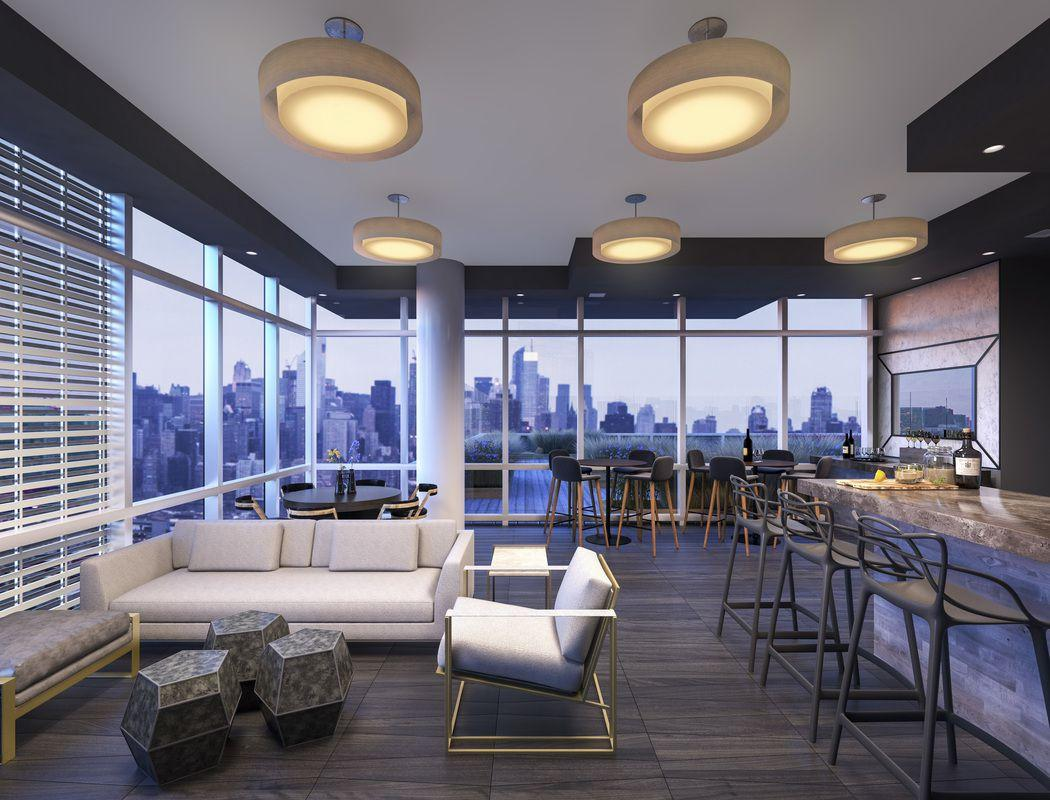 Apartments for rent at Tower28 in NYC - Lounge