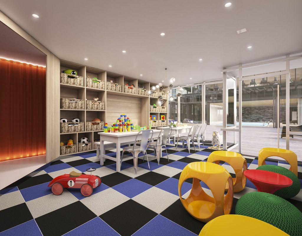 Children's Playroom at Tower28 in NYC - Apartments for rent