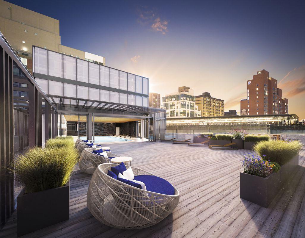 Rentals at 42-12 28th Street in Long Island City - Rooftop Terrace