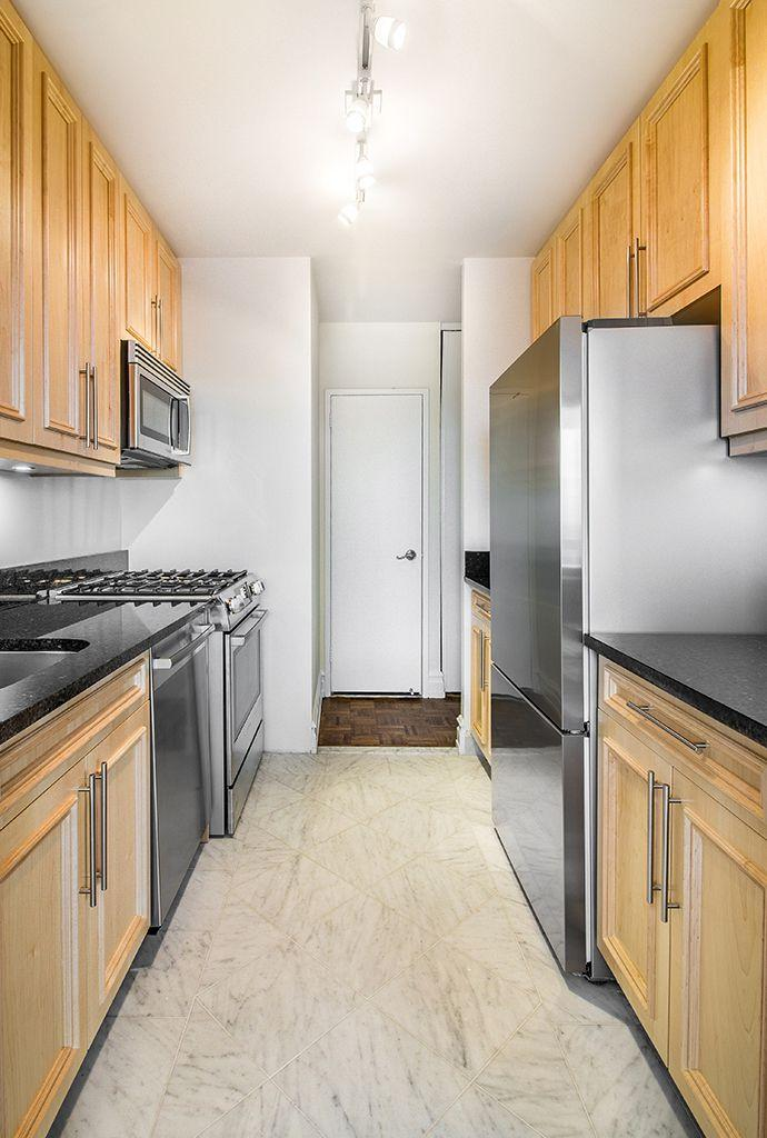 Kitchen at Tower 67 in NYC - Apartments for rent