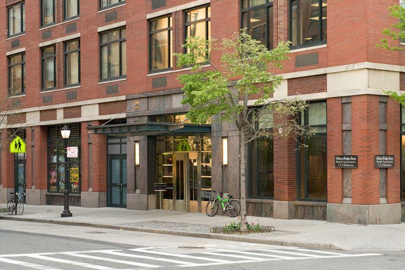 Tribeca Bridge Tower Entrance -  Battery Park City Apartment Rentals