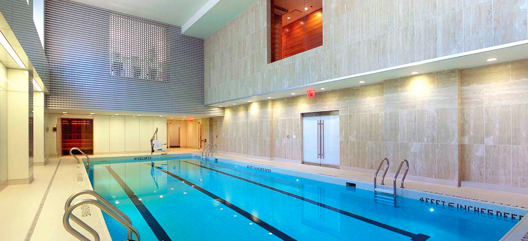 The Swimming Pool at 1113 York Avenue rentals