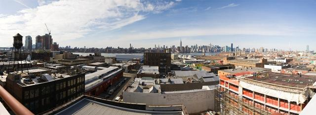 Stunning view at 44 Berry Street in Williamsburg