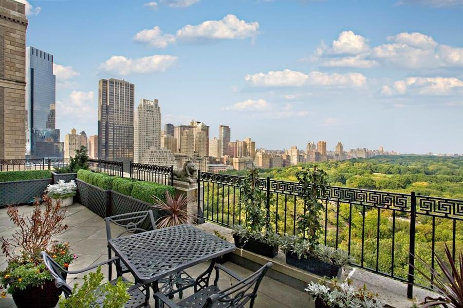 160 central park south rentals the jw marriott essex for New york city penthouses central park