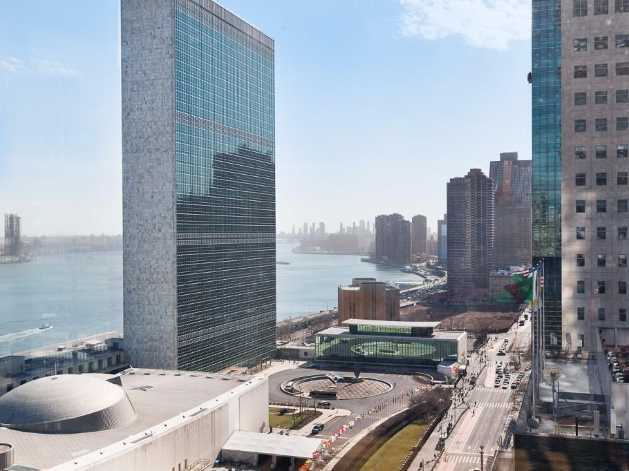 View From 50 United Nations Plaza