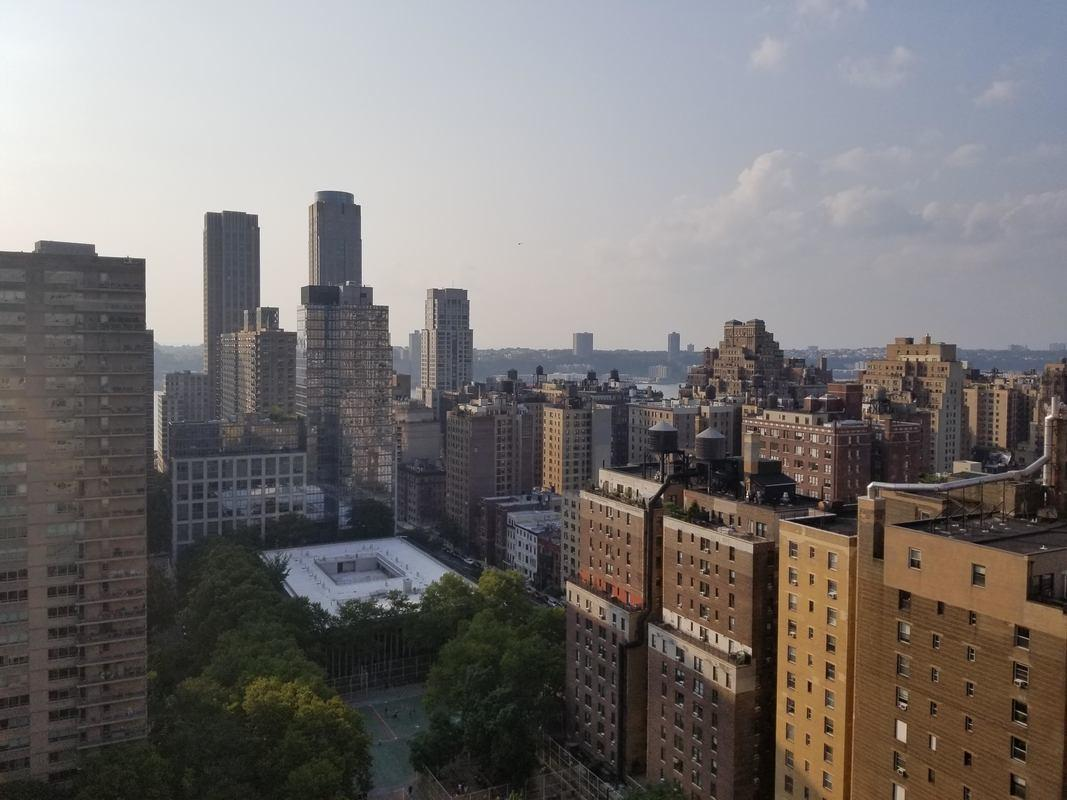 City view form Dorchester Towers - 155 West 68th Street