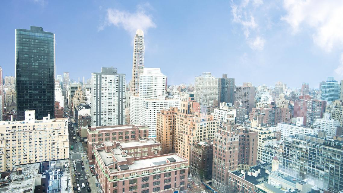 View from The Laurel - 400 East 67th Street