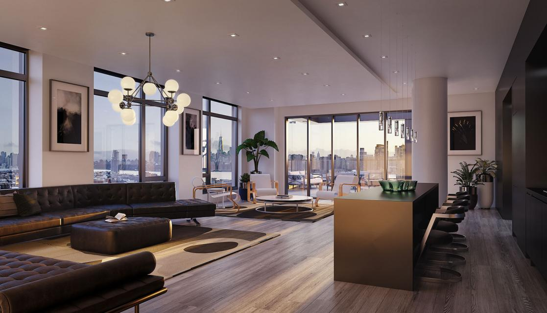 Rentals at Watermark LIC in Long Island City - Sky Lounge