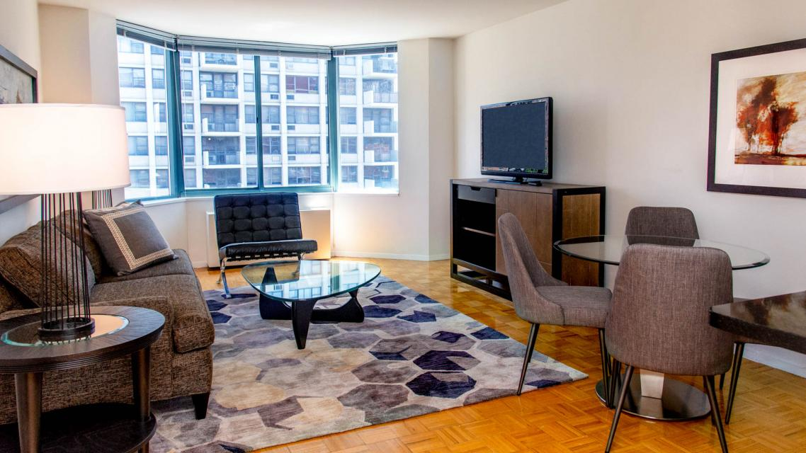 750 Columbus Avenue apartments for rent Living Room