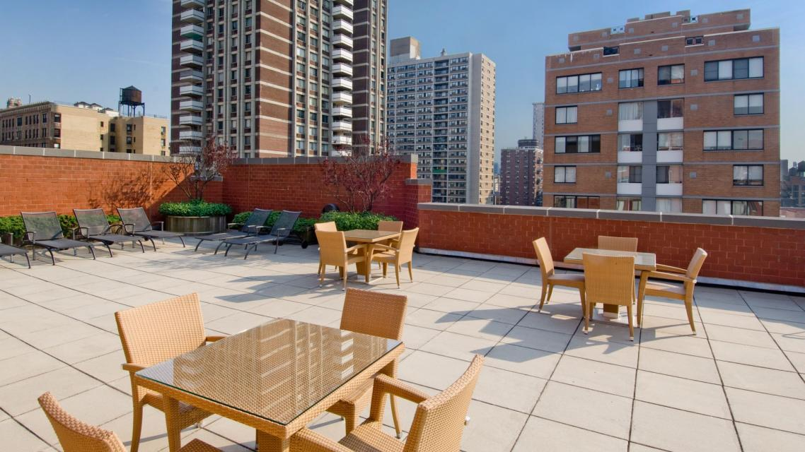 750 Columbus Avenue rental building Roofdeck - NYC Flats