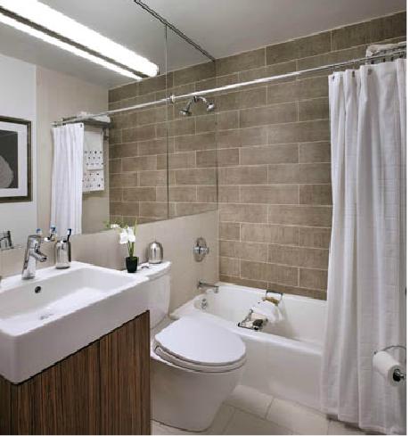Bathroom in the Wimbledon Apartment, Manhattan Rentals