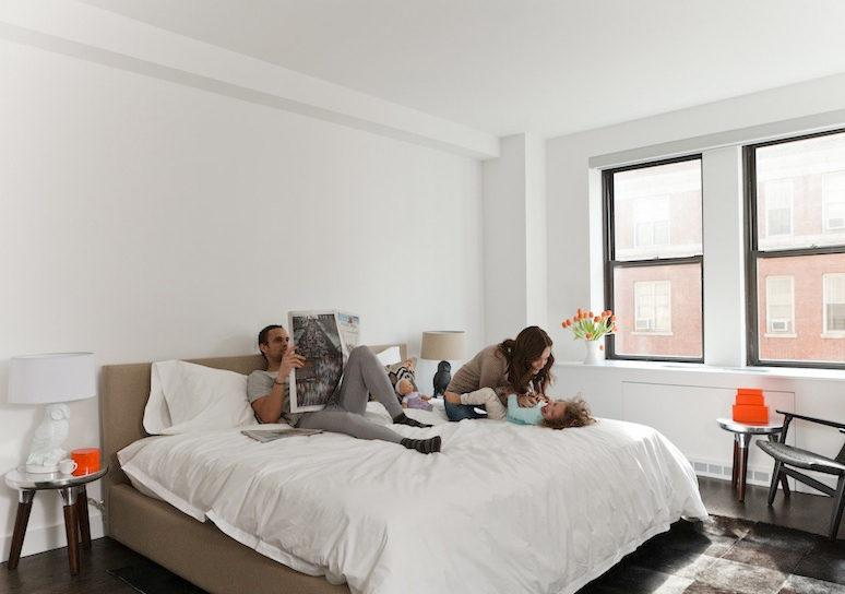 Bedroom at 666 West End - Manhattan Apartments UWS