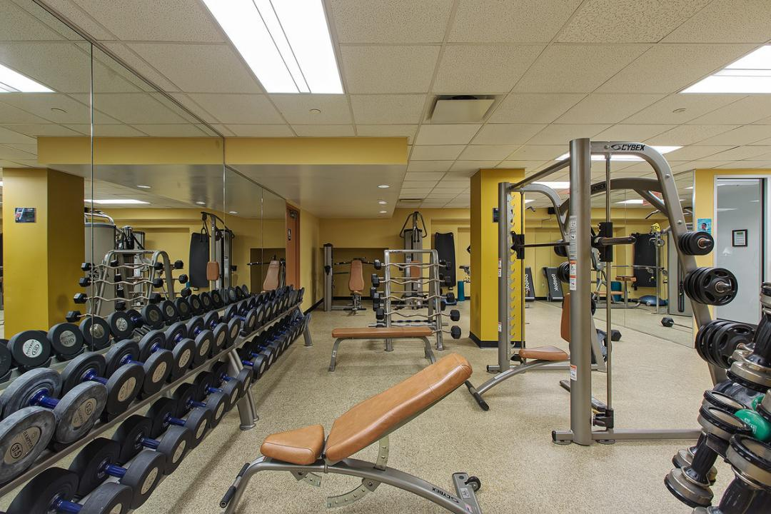 The Building's Gym at Yorkshire Towers