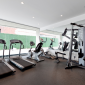 Gym in the Murano condo building