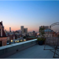 Rooftop View at Night, 75 Clinton Street Rentals, Brooklyn Heights