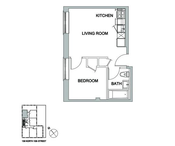 Rental Apartment Websites: 139 North 10th Street Rentals