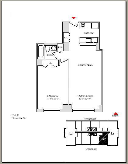 225 east 95th street rentals normandie court for 125 court street floor plans