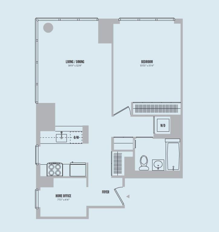 1 Bedroom Apartments In Manhattan: 885 Sixth Avenue Rentals