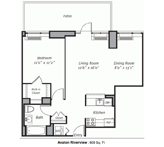 1 Bedroom Apartments In Manhattan: 2-01 50th Avenue Rentals