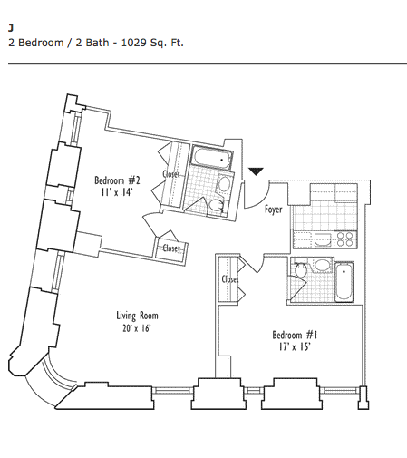 2 Bedroom Apartments Manhattan: Apartments For Rent In Financial District