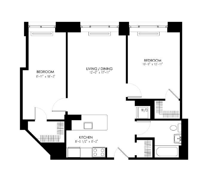 Roosevelt Island Apartments: 888 Main Street Rentals