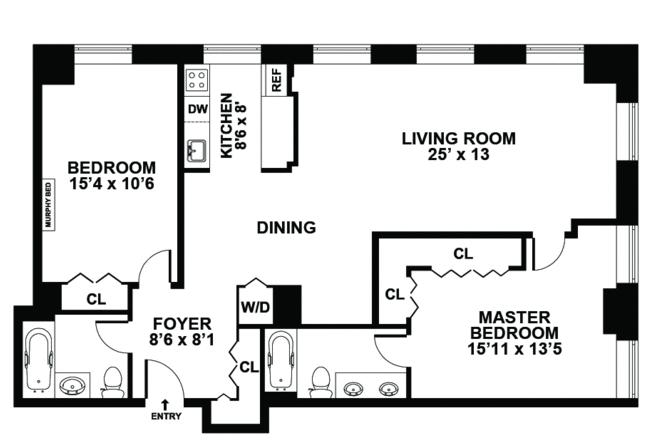99 John Street rentals | Deco Lofts | Apartments for rent ...