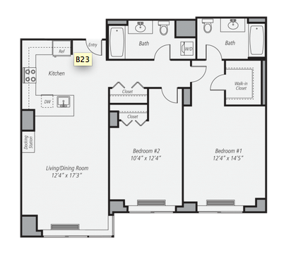 Two Bedroom Apartments Nyc 1 2 Apt Midtown East