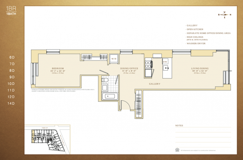 Gallery For Luxury Two Bedroom Apartment Floor Plans