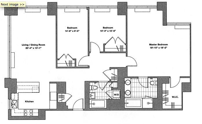 Dream 3 Bedroom Condo Floor Plans 23 Photo Building