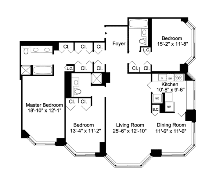 4 bedroom apartment nyc   shoe800