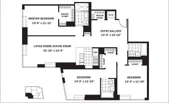 3 Bedroom Apartment Information