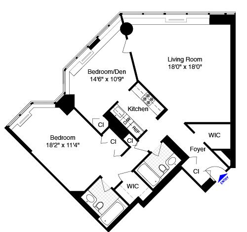 415 East 37th Street Rentals The Horizon Apartments