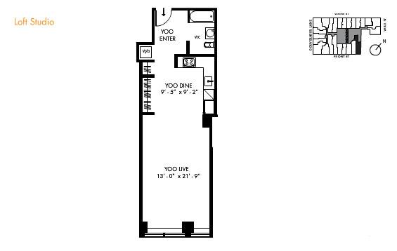 Studio Apartment Floor Plans 28+ [ studio loft apartment floor plans ] | 15 studio loft