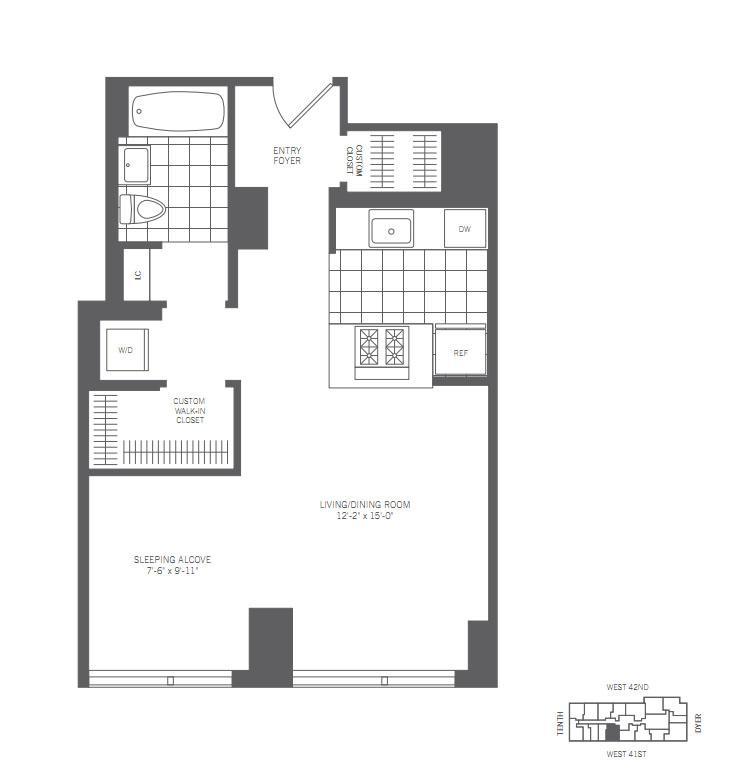 Rental Apartment Websites: 450 West 42nd Street Rentals