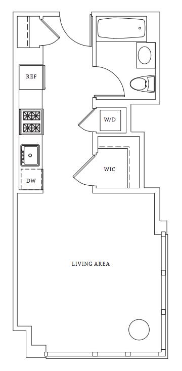 550 West 45th Street Rentals Gotham West Apartments