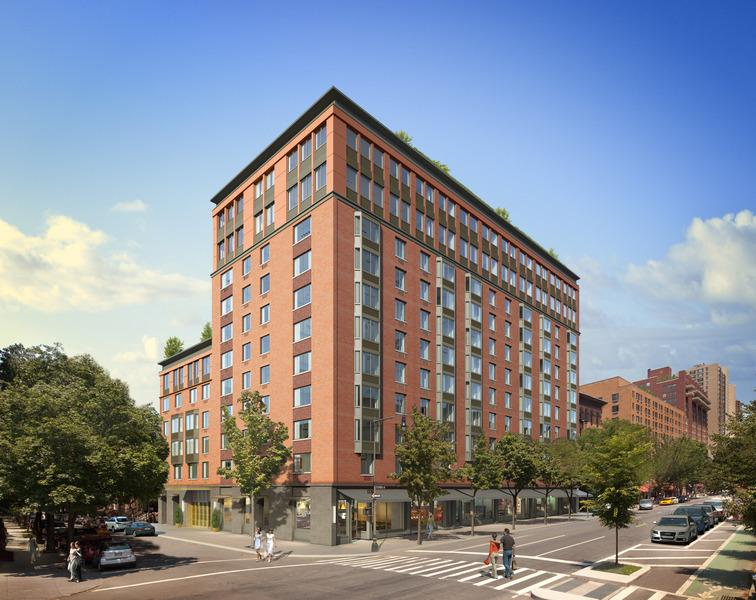 101 West 87th Street building- condos for rent in NYC