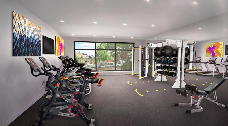 Condos for rent at Graffiti House in NYC - Fitness Center