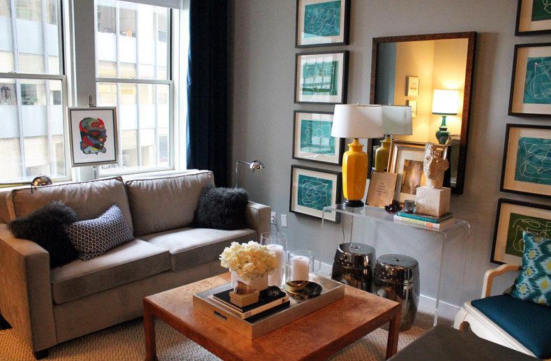 116 John Street New York - Manhattan Rentals - Living Room