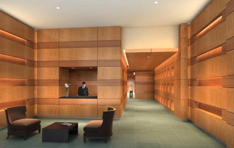 Sky House Lobby -  Gramercy Park NYC Condominiums