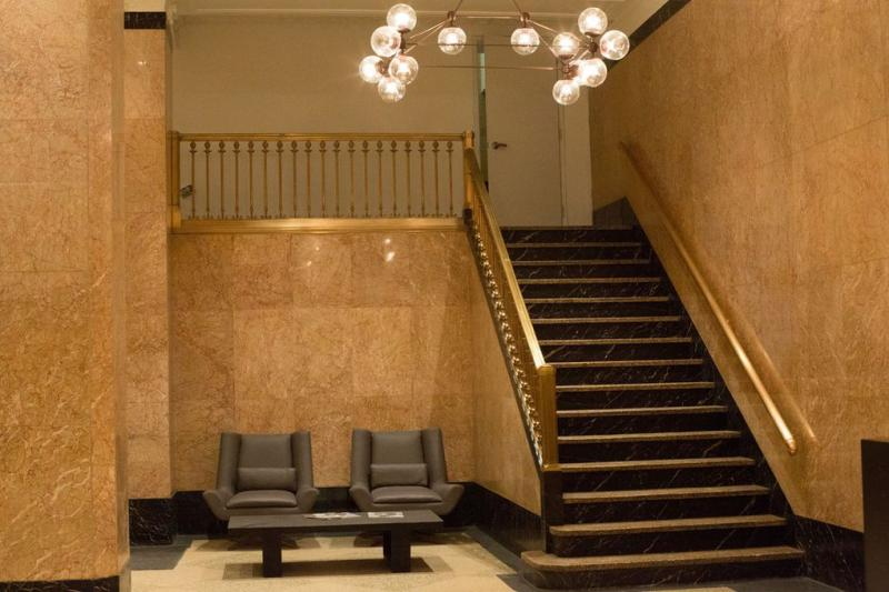 15 Park Row Straircase - Manhattan Apartments for rent