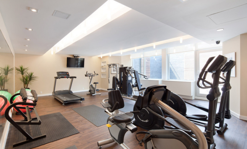 Gym 163 Washington Avenue - Clinton Hill Condominiums for Rent