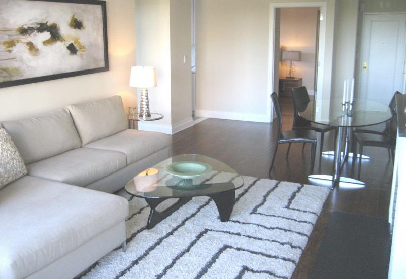 Livingroom at  240 Central Park South in NYC