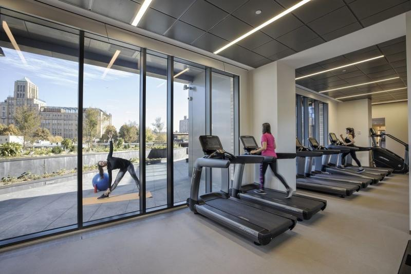 Rentals at 250 Ashland Place in Brooklyn - Fitness Center