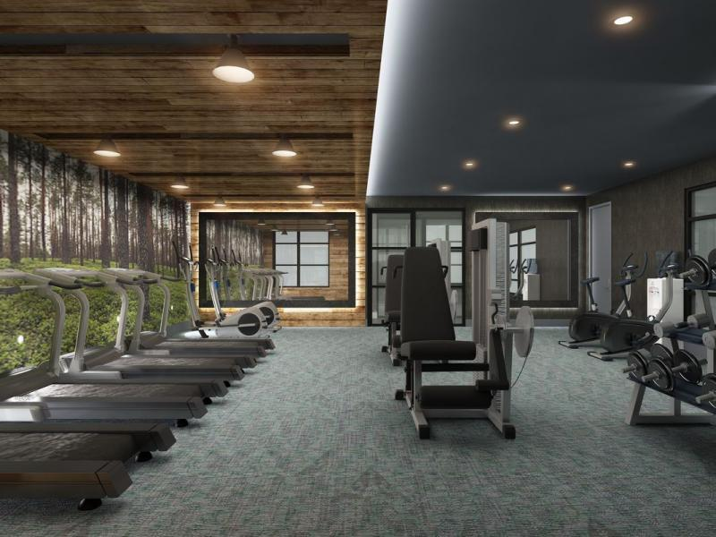 Gym at 26 West Street - NYC Apartments for rent