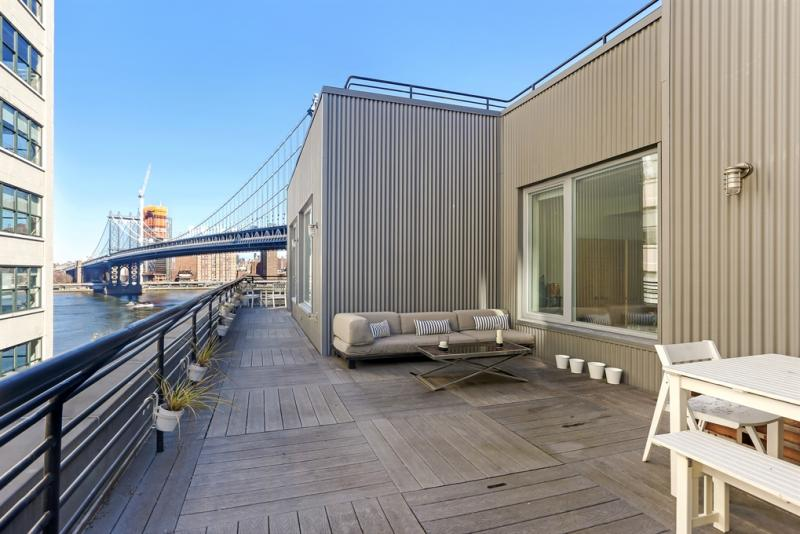 Apartment Terrace at 30 Washington Street