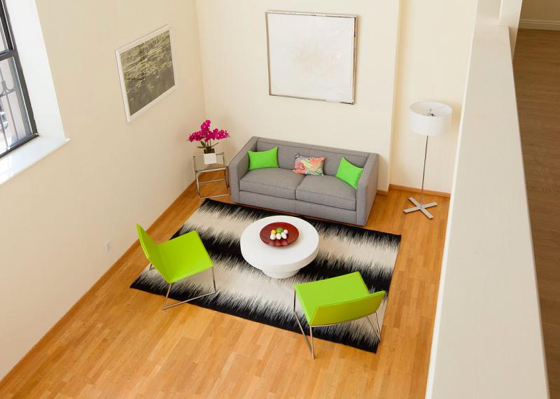 Living Room at 371 Madison Street
