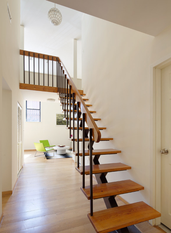 Staircase at 371 Madison Street
