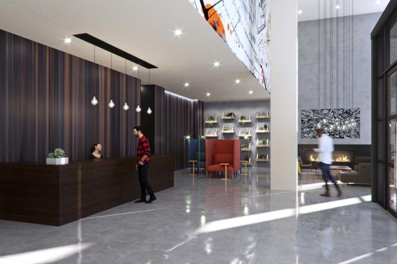Reception at Hoyt and Horn in Downtown Brooklyn - Apartments for rent
