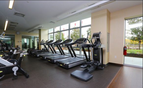 Apartments for rent at Riverwalk Point in NYC - Fitness Room